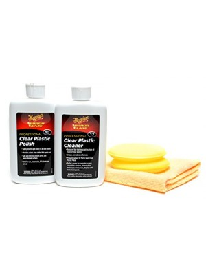 Meguiar's #10 and #17 Plastic Polish & Cleaner