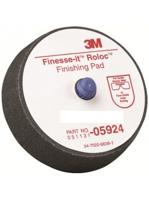 """3M 05924 Finesse-it Roloc 3"""" Finishing Pad (Pack of 5)"""