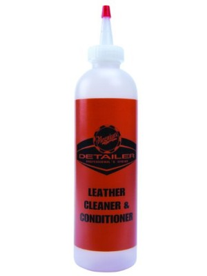 Meguiar's D20180 Leather Cleaner and Conditioner Bottle