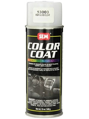 SEM 13003 High Gloss Clear Color Coat Aerosol - 12 oz.