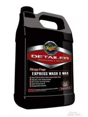 Meguiars D11501 Gallon Rinse Free Express Wash And Wax