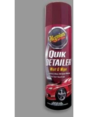Meguiar's A3318 Quick Detailer Mist and Wipe -16 oz.