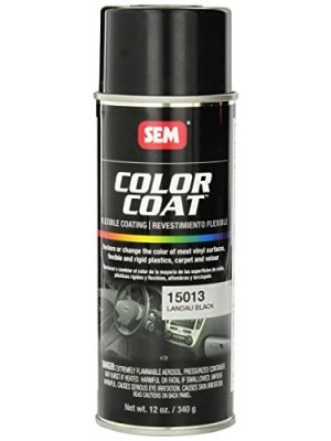 SEM 15013 Landau Black Color Coat - 12 oz.