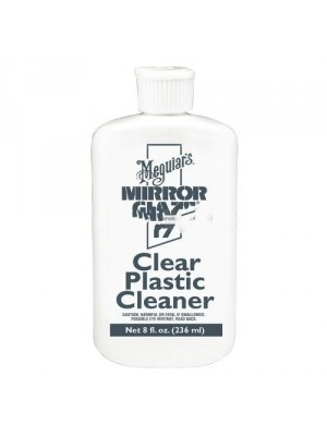 Mirror Glaze Clear Plastic Cleaner - 8 Oz