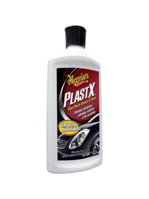 Meguiar's Plast-X Clear Plastic Cleaner and Polish (White)