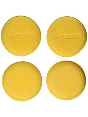 "Meguiar's W0004 Foam Applicator Pad 4-1/2"", 4 per pack"