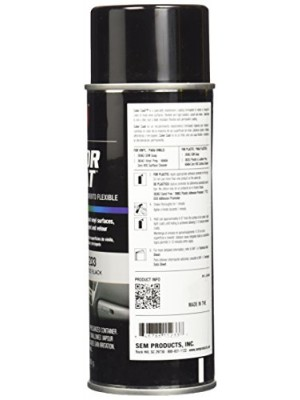 SEM 15233 Gloss Black Color Coat - 12 oz.
