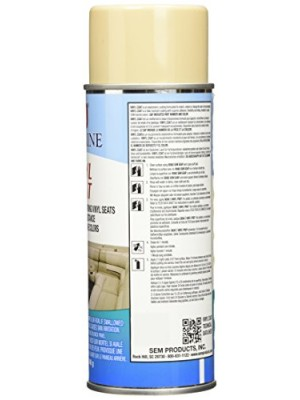SEM M25113 Sea Ray Champagne Marine Vinyl Coat - 12 oz.