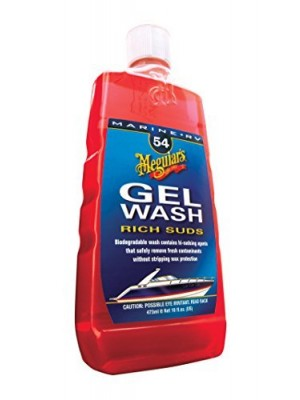 2 X Meguiar's M5416 Marine/RV Gel Wash - 16 oz.