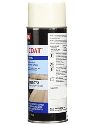 SEM M25073 Ranger Off-White Marine Vinyl Coat - 12 oz.