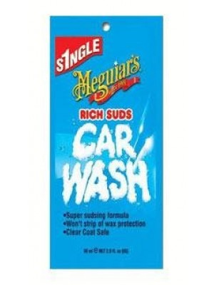 Meguiars Mgg-1802T, 2 Oz Rich Suds Car Wash - Bag Of 12