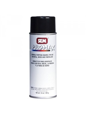 SEM 61073 Clear Promax General Purpose Enamel - 12 oz.