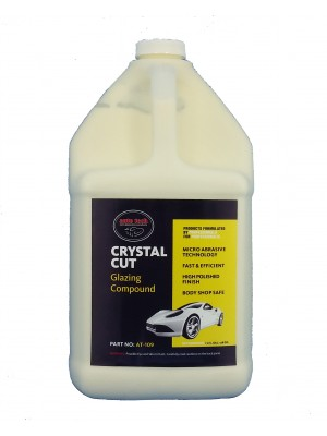 AT-109 CRYSAL CUT GLAZING COMPOUND