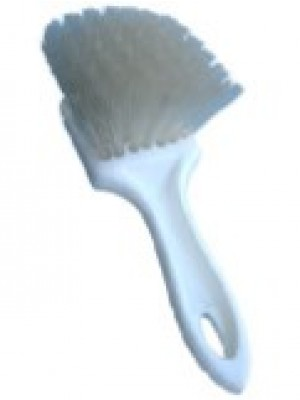 "BR108 9"" NYLON BRUSH-WHITE"