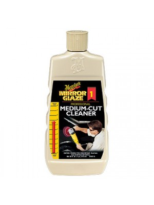 M0116 MEGUIARS MIRROR GLAZE MEDIUM CUT CLEANER