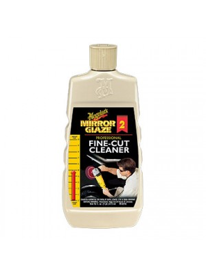 M0216 MEGUIARS MIRROR GLAZE FINE CUT CLEANER 16 OZ